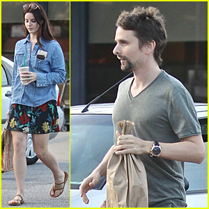 Lana Del Rey & Matthew Bellamy Meet Up For Coffee & Bond Over Music