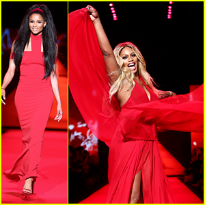 Laverne Cox Seriously Rocks a Runway Like No One Else Can