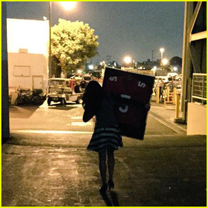 Lea Michele Keeps Cory Monteith's 'Glee' Football Jersey