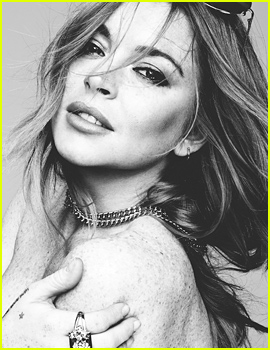 Lindsay Lohan Poses Topless for Rankin's 'Hunger' Mag!