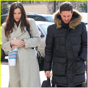 Liv Tyler & Dave Gardner Visit Baby Before Taking Him Home