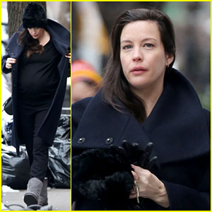 Pregnant Liv Tyler Gives a Peek at Her Baby Bump