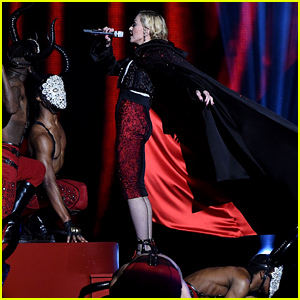 Madonna Addresses Her Fall at the BRIT Awards 2015: 'I'm Fine!'