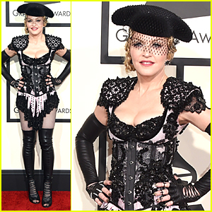 Madonna Transforms Into Sexy Matador at Grammys 2015