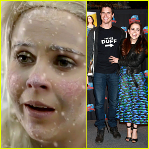 Mae Whitman & Bella Thorne Star in 'Frozen' Live Action Spoof!