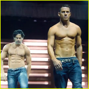 'Magic Mike XXL' Trailer Screencaps - Hot Shirtless Photos!
