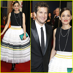 Marion Cotillard & Guillaume Canet Are Picture Perfect Couple at Cesar Awards 2015