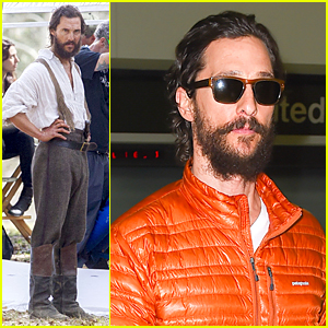 Matthew McConaughey Worked On 'Free State of Jones' Set Prior to Oscars 2015