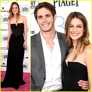 Glee's Melissa Benoist & Blake Jenner Couple Up at Spirit Awards 2015!