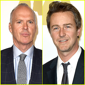 Michael Keaton & Edward Norton Celebrate 'Birdman' Nominations at Oscars Luncheon 2015