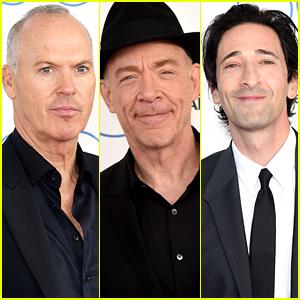 Michael Keaton & J.K. Simmons Prep for Oscars at Spirit Awards