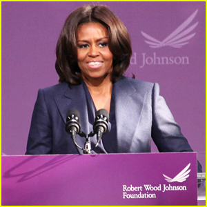 Michelle Obama Visits New York High School & Announces Funding to Fight Childhood Obesity!