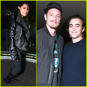 Michelle Rodriguez & Joel Kinnaman Help Celebrate Snoop Dogg at Levi's Pre-Grammys Party