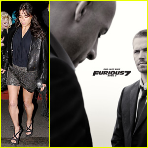 Michelle Rodriguez's Film 'Furious 7' Gets Brand New Poster!