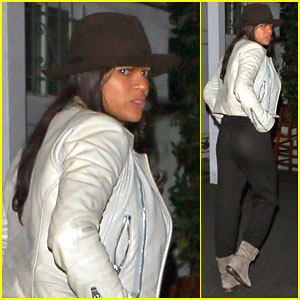 Michelle Rodriguez Keeps Her Night Low-Key Getting Dinner With a Friend