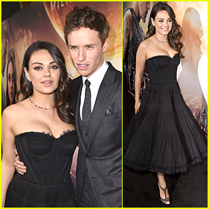 Mila Kunis Makes First Red Carpet Appearance Since Wyatt's Birth at 'Jupiter Ascending' Premiere