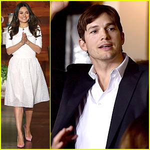 Mila Kunis Talks Ashton Kutcher & Wyatt, Plays Coy About Marriage Rumors