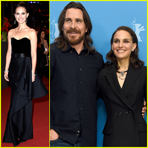 Natalie Portman & Christian Bale Premiere 'Knight of Cups' in Berlin