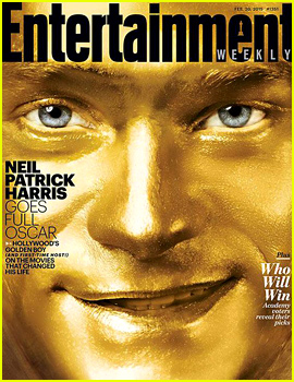 Neil Patrick Harris Goes Totally Gold for EW's Pre-Oscars Issue