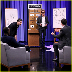 Nick Jonas Plays Worst Game of Pictionary Ever with Jimmy Fallon, Kevin Bacon, & Don Cheadle - Watch Now!