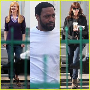 Nicole Kidman & Chiwetel Ejiofor Get Back To Work on 'The Secret in Their Eyes' Set!