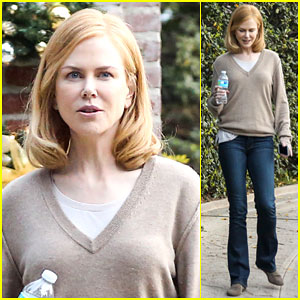 Nicole Kidman Gets Busy On the Set of 'The Secret in Their Eyes'