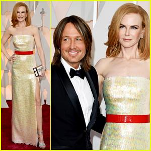Nicole Kidman & Keith Urban Couple Up at Oscars 2015!
