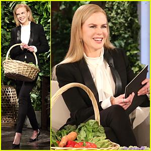 Nicole Kidman Makes Surprise Stop at Ellen's Bushes - Watch Now!