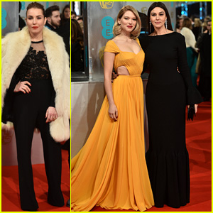Noomi Rapace & Lea Seydoux Bring Red Lips to BATFAs 2015