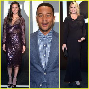 Olivia Munn & John Legend Get Ready For Oscars Weekend