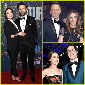 Olivia Wilde & Jason Sudeikis Couple Up on 'SNL 40' Red Carpet