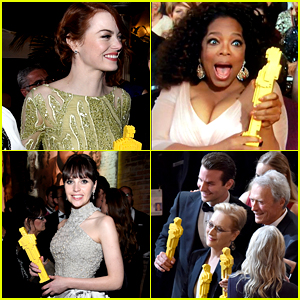 Oscars 2015 Losers Go Home with LEGO Trophies! (Photos)