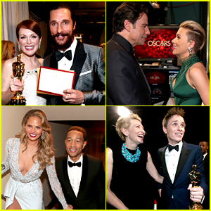 Oscars 2015's Best Backstage Moments - See All the Photos!