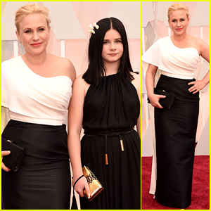 Patricia Arquette Brings Her Daughter Jane to the Oscars 2015