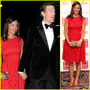 Pippa Middleton & Boyfriend Nico Jackson Are a Red Hot Couple for Red Ball
