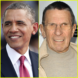 President Obama Pays Tribute to the Late Leonard Nimoy