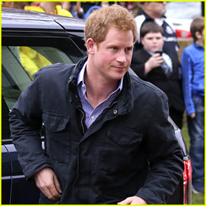 Prince Harry Steps Out After Those Emma Watson Rumors