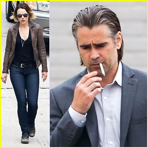 Rachel McAdams & Colin Farrell Get Some Serious Scenes Shot for 'True Detective'