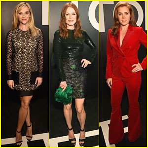 Reese Witherspoon & Julianne Moore Represent Best Actress Noms at Pre-Oscars Party