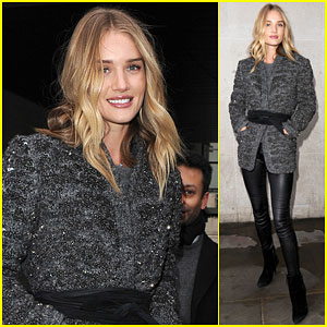 Rosie Huntington-Whiteley is Feeling Fired Up for the Weekend