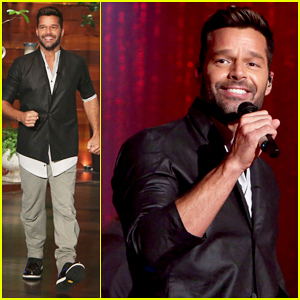Ricky Martin Talks Steamy Instagram Photos & Upcoming 'One World Tour' on 'Ellen'!