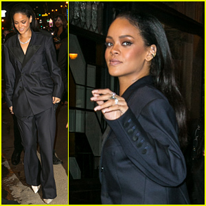 Rihanna Hits the Grammys 2015 After Parties, Gushes Over Her Amazing 'FourFiveSeconds' Performance!