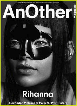 Rihanna Wears a Futuristic Mask for 'AnOther' Mag Cover