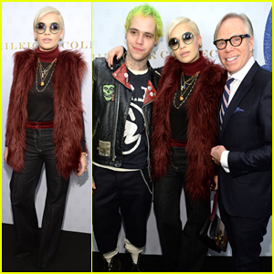 Rita Ora & Ricky Hilfiger Support His Father at Tommy Hilfiger's Women's Collection NYFW Show!