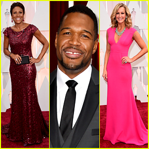 Robin Roberts & Michael Strahan Get Ready for ABC's Oscars Pre-Show