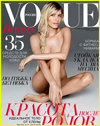 Russian 'Vogue' Model Shares Crazy Post-Baby Weight Loss