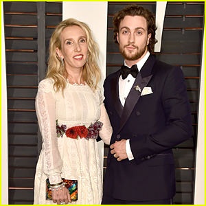 'Fifty Shades of Grey' Director Sam Taylor-Johnson & Husband Aaron Are Perfect Couple at Vanity Fair Oscar Party 2015