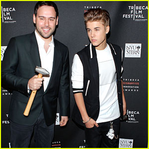 Scooter Braun Welcomes First Child, Justin Bieber Visits Hospital!