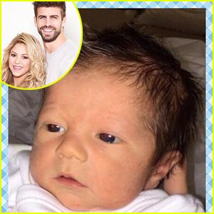 Shakira Debuts Newborn Baby Boy Sasha - See His First Photo!