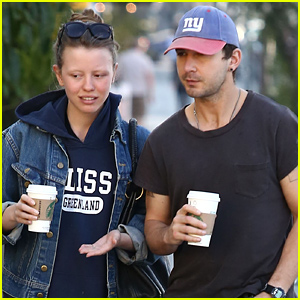 Shia LaBeouf & Mia Goth Spend the President's Day Holiday Together